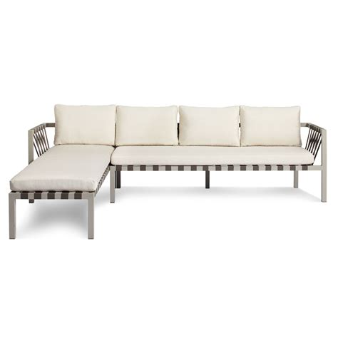 jibe outdoor left sectional sofa outdoor sectionals