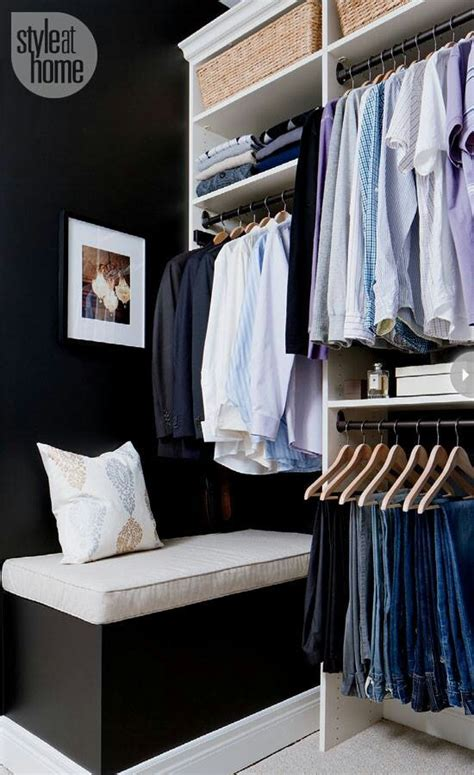 before and after walk in closet makeover