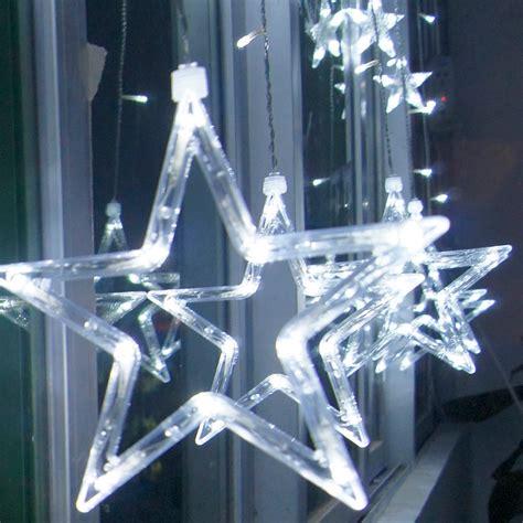 stars led curtain fairy string lights window curtain lamp