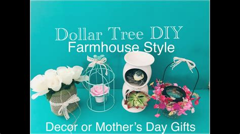 dollar tree diy farmhouse style mothers day gifts home