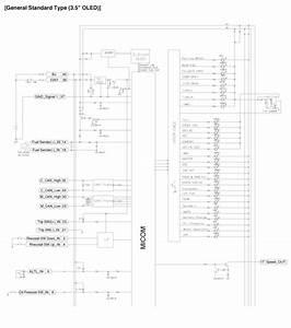 Kia Sedona  Instrument Cluster Schematic Diagrams - Indicators And Gauges