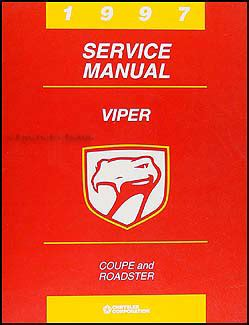 free service manuals online 1997 dodge viper navigation system 1997 dodge viper coupe and roadster repair shop manual original