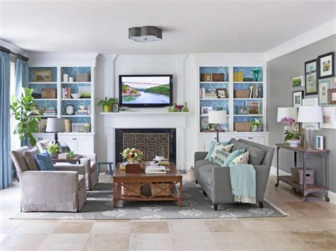 finish decorating  living room hgtv