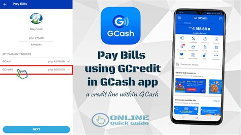 Check spelling or type a new query. How to Pay Bills using GCredit in GCash mobile app | Online Quick Guide