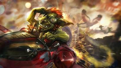 Goblin Warcraft Hearthstone Dwarf Wallpapers Heroes Catapult