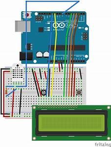 Portable Arduino Temp  Humidity Sensor With Lcd