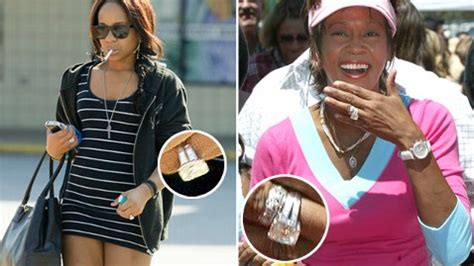 clever bulletin whitney houston s daughter wearing mother