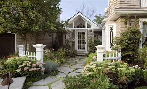 Cottage Style Backyards by 75 Walkway Ideas Designs Brick Paver Flagstone