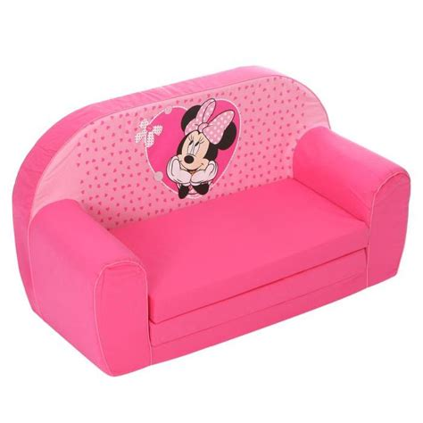 minnie canap 233 mousse sofa disney baby rose achat