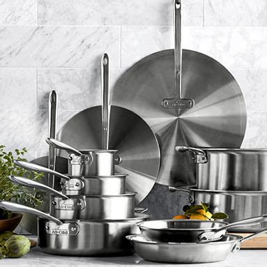 cookware pots  pans cooking pans williams sonoma