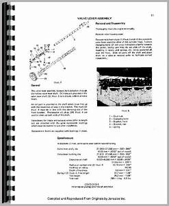International Harvester 544 Tractor Engine Service Manual
