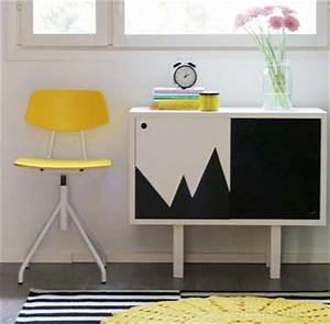 repeindre une commode avec des motifs de peinture noir et With couleur papier peint tendance 9 peinture relooker ses meubles pour pas cher