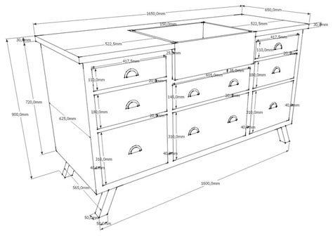 dimension meuble de cuisine acheter meuble évier en chêne zinc pieds compas
