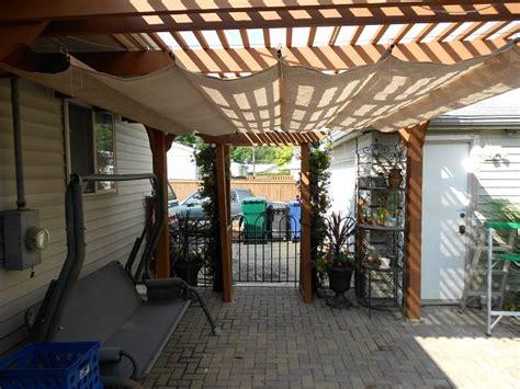 Diy Backyard Canopy by 9 Clever Diy Ways To Create Backyard Shade The Garden Glove