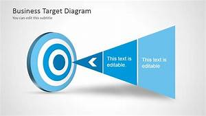 Free Blue Target Shapes For Powerpoint