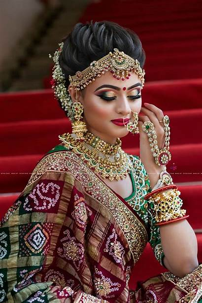 Bridal Makeup Indian Traditional Looks Bride South