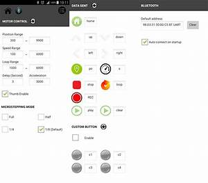 Makerblog   Arduino Motion Control Camera Slider  Andriod