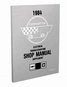 1984 Corvette Repair Shop Manual Original
