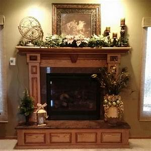 wood stove mantel designs decoseecom With the various fireplace decor ideas