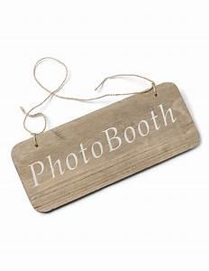 Pancarte En Bois : pancarte en bois photobooth 25 x 10 cm d coration anniversaire et f tes th me sur vegaoo party ~ Teatrodelosmanantiales.com Idées de Décoration