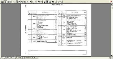w123 fuse map diagram peachparts mercedes