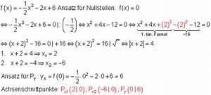 Formfaktor Berechnen : l sungen geraden parabeln vk i mathe brinkmann ~ Themetempest.com Abrechnung