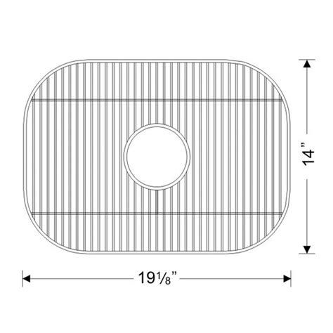 Stainless Steel Sink Grid 26 X 14 by Kitchen Sinks Stainless Steel Sink Bottom Grid 19 1 8