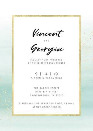 Unique Rehearsal Dinner Invitations and Wedding Cards