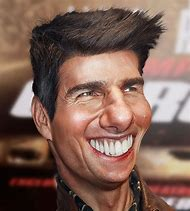 Tom Cruise Caricature Drawing