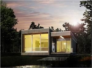 Extension Maison Préfabriquée : une maison pr fabriqu e cologique l 39 an vert du d cor ~ Melissatoandfro.com Idées de Décoration