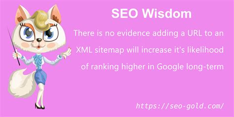 Evidence Adding Urls Xml Sitemap Increases Google