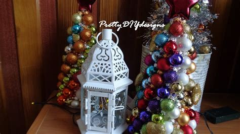 christmas tree   od styrofoam cone  ornaments