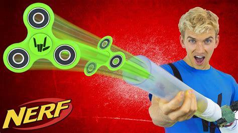 Fidget Spinner Nerf Gun!!