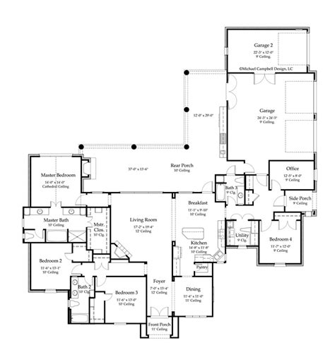 country homes floor plans house plans 2631 square country home style