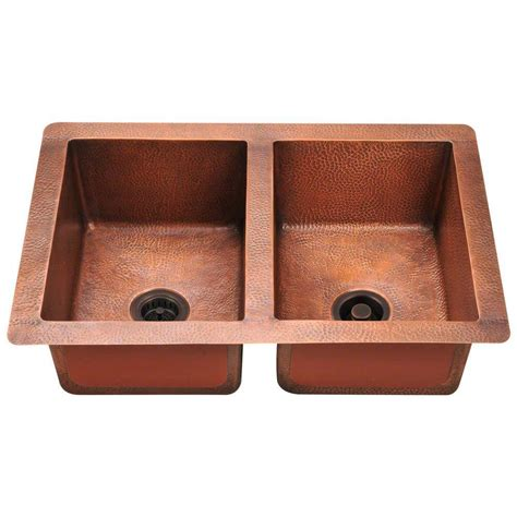 home depot copper sink copper sinks kitchen sinks the home depot