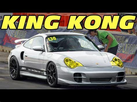 King Kong! 1500+hp Turbo Porsche @ Tx2k15! Youtube