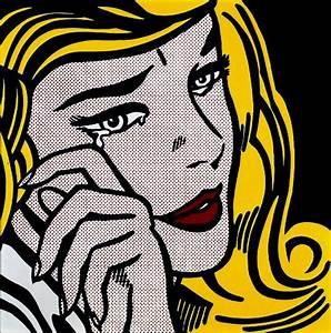 Roy Lichtenstein | Crying Girl, 1964