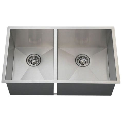 home depot kitchen sinks stainless steel undermount polaris sinks undermount stainless steel 27 1 2 in