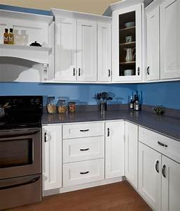White Shaker: Kitchen Cabinet Depot