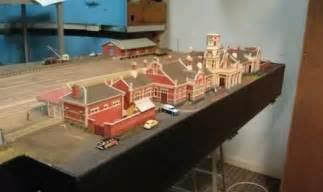 Model Railroad Train Stations