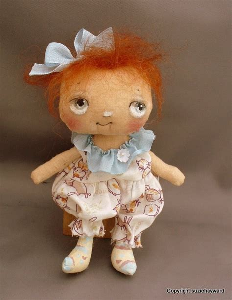 Red Haired Baby Doll Cloth
