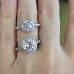one carat engagement ring size guide raymond jewelers