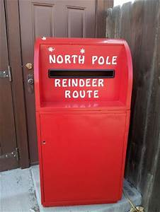 1000 images about christmas santa mailbox on pinterest With letters to santa post box