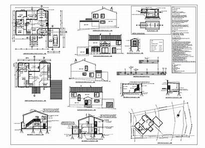 Plan Pdf Plans Floor Blueprint Sample Elevation