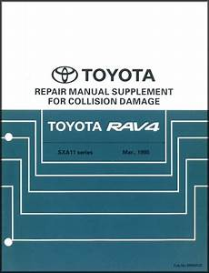 1999 Toyota A  C Wiring Diagram Manual Original Corolla