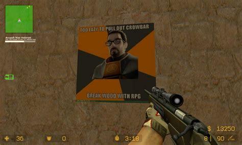 Gordon Freeman Memes Lazy Counter Strike Source
