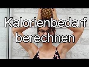 Kalorienbedarf Mann Berechnen : kalorienbedarf berechnen fit miri youtube ~ Themetempest.com Abrechnung