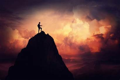 Overcome Overcoming Mountain Obstacles Challenges Background Conquer