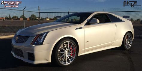 cadillac cts niche surge wheels brushed face  luster polished windows brushed barrel