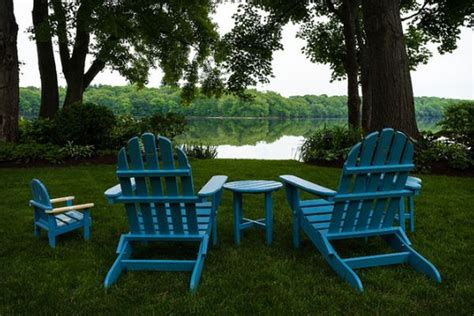 Backyard Chairs by Combine Adirondack Chairs With Modern Elements For A